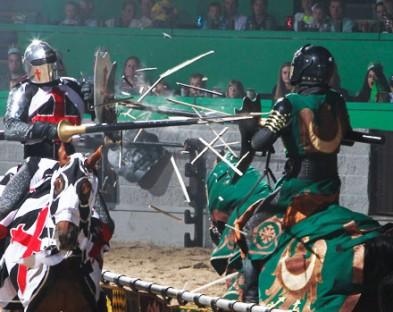 Средневековый рыцарский турнир с ужином