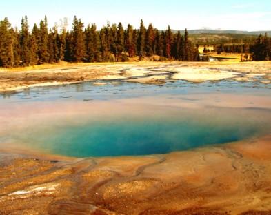 1-й Национальный парк в мире Йеллоустоун —  Невозможно не увидеть!