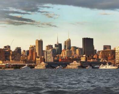 Новый городской проект под названием «Супер пирс» создан для улучшения West15 стрит и парка Hudson River в Нью-Йорке