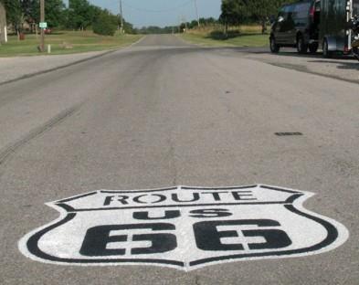 По знаменитому «Route 66» на мотоцикле